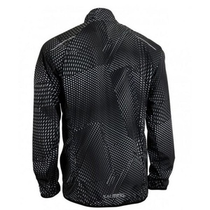 Jacket Salming Ultralite Jacket 3.0 Men Black All Over Print, Salming