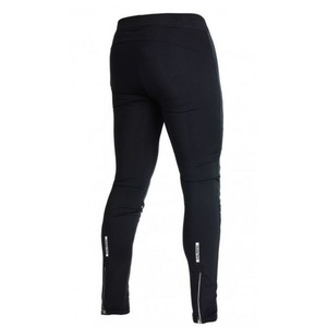 Running pants Salming Thermal Wind Tights Men Black, Salming