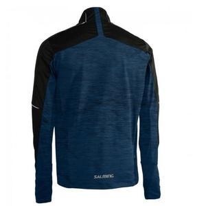 Jacket Salming Thermal Wind Jacket Men Black / Blue Melange, Salming