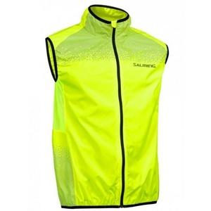 Men running vest Salming Skyline Vest Men Safety Yellow, Salming