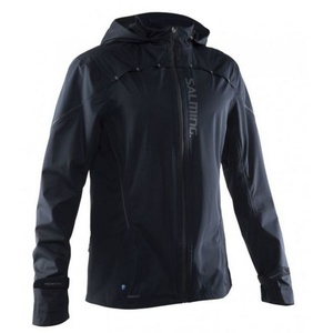 Jacket Salming Abisko Rain Jacket Men Black, Salming