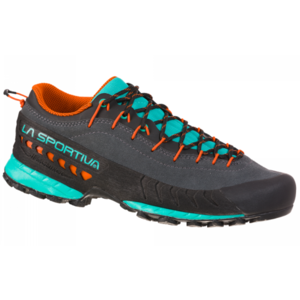 Shoes La Sportiva TX4 Woman Carbon / Aqua, La Sportiva