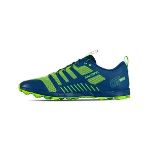 Shoes Salming OT Comp Men Poseidon Blue / Safety Yellow, Salming