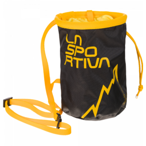 Bag to magnesium La Sportiva LSP Chalk Bag black, La Sportiva