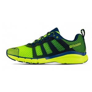 Shoes Salming enroute 2 Men Safety Yellow / Poseidon Blue, Salming