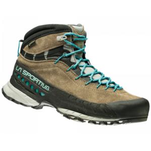 Shoes La Sportiva TX4 Mid GTX Women taupe / emerald, La Sportiva