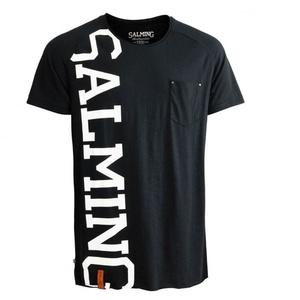 Men shirt Salming Edge Tee Black, Salming