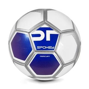 Spokey MERCURY Football ball size. 5 white-blue, Spokey