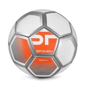 Spokey MERCURY Football ball size. 5 white-orange, Spokey