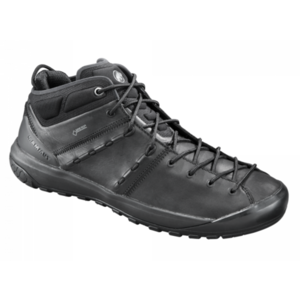 Shoes Mammut Hueco Advanced Mid GTX ® Men black-black 0052, Mammut