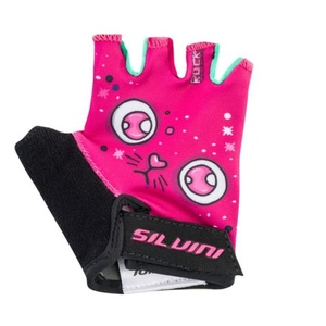 Children cycling gloves Silvini Punta CA1438 pink, Silvini