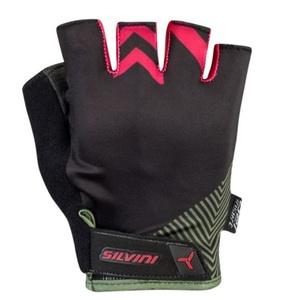 Women gloves Silvini Albano WA1431 olive, Silvini