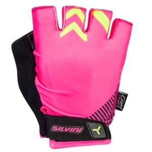 Women gloves Silvini Albano WA1431 pink, Silvini