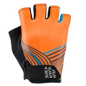 Men gloves Silvini Ispiene MA1419 orange, Silvini