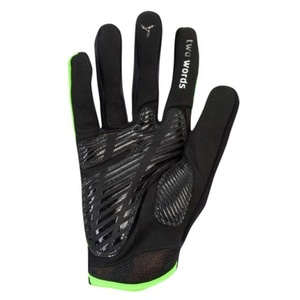Men gloves Silvini Team MA1413 green, Silvini