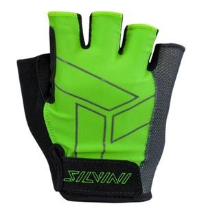 Men gloves Silvini Liro MA1444 green, Silvini