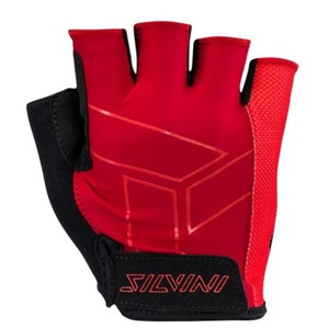 Men gloves Silvini Liro MA1444 red, Silvini