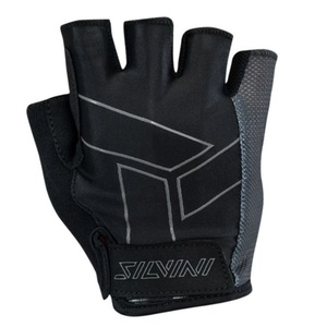 Men gloves Silvini Liro MA1444 black, Silvini