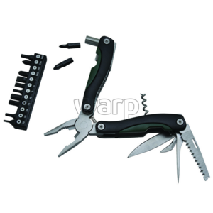Multifunction knife Baladéo BLI017 Locker green