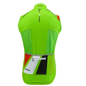 Men vest Silvini TEAM MJ1404 green, Silvini