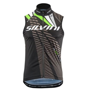 Men vest Silvini TEAM MJ1404 black, Silvini