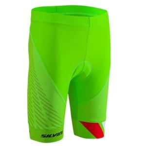 Children cycling pants Silvini Team CP1436 green, Silvini