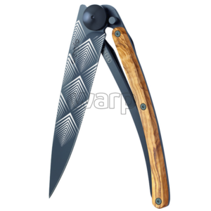 Pocket knife Deejo 3GB105 Giant black Art Déco, Deejo