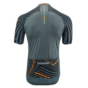 Men cycling jersey Silvini Chiani MD1418 charcoal, Silvini