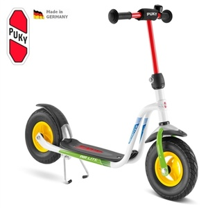 Scooter PUKY R 03L white / kiwi 5219, Puky