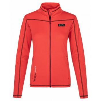 Women functional sweatshirt Kilpi ERIS-W Red, Kilpi