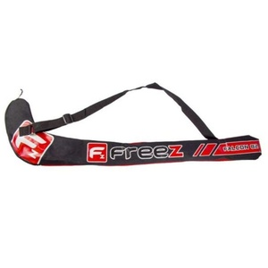 Floorball bag FREEZ STICKBAG FALCON 82 black / red, Freez