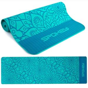 Spokey MANDALA pad to exercise turquoise 4 mm, Spokey