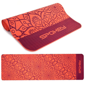 Spokey MANDALA pad to exercise salmon 4 mm, Spokey