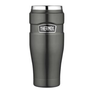Waterproof thermo mug Thermos Style metalicky grey 160025, Thermos