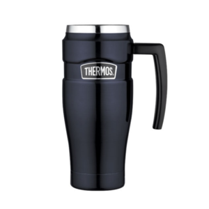 Waterproof thermo mug with handler Thermos Style dark blue 160030, Thermos