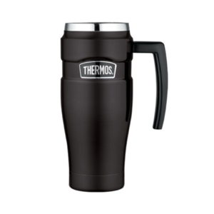 Waterproof thermo mug with handler Thermos Style dimly black 160033, Thermos