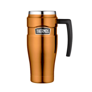 Waterproof thermo mug with handler Thermos Style copper 160034, Thermos