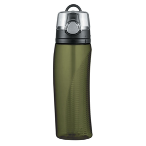 Hydrating bottle with counter Thermos Sports olive green 320010, Thermos