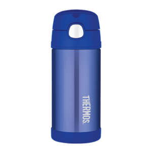 Children thermos with with a straw Thermos Funtainer blue, Thermos
