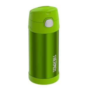Children thermos with with a straw Thermos Funtainer lime, Thermos
