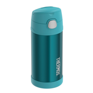Children thermos with with a straw Thermos Funtainer turquoise, Thermos