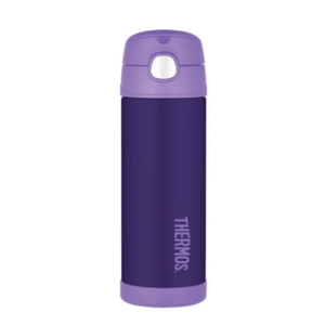 Children thermos with with a straw Thermos Funtainer purple 120020, Thermos