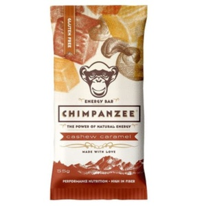 CHIMPANZEE BOX ENERGY BAR Cashew Caramel 20ks, CHIMPANZEE