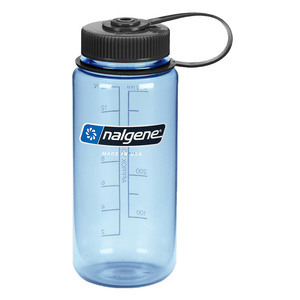 Bottle Nalgene Wide Mouth 0,5l Tuxedo_Blue/682010-0421, Nalgene