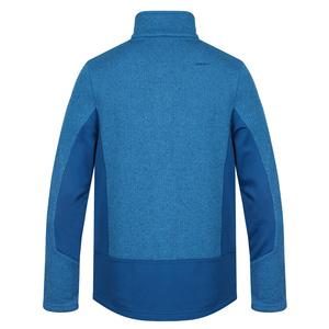 Men fleece sweater Husky Alan M tm. blue, Husky