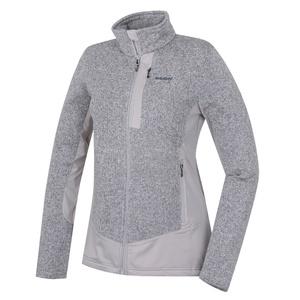Women fleece jacket Husky Alan L light. grey, Husky