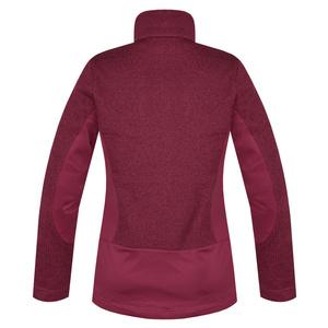 Women fleece jacket Husky Alan L wine, Husky