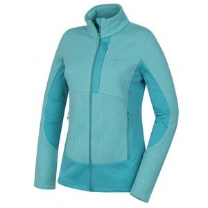 Women fleece jacket Husky Alan L th. turquoise, Husky