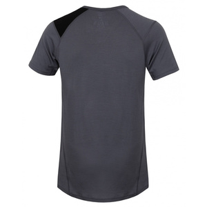 Men merino shirt Husky Sheep grey, Husky
