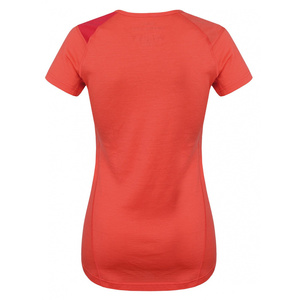 Women merino shirt Husky Sheep peach, Husky